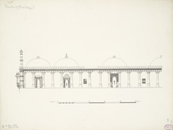 Elevation of Phuti mosque